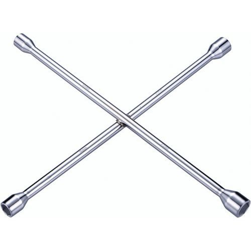 Clé en croix pour écrous de roue - Manutan