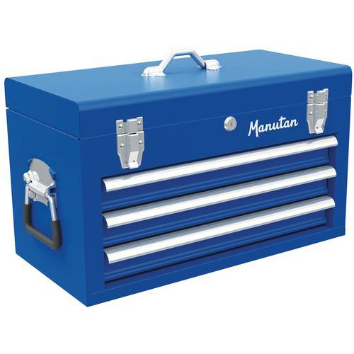 Boîte à outils 3 tiroirs - Manutan