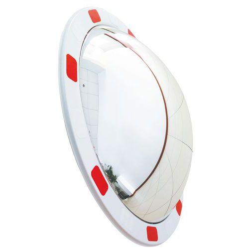 Miroir de sécurité – Voie privée – Vision 130° - Manutan