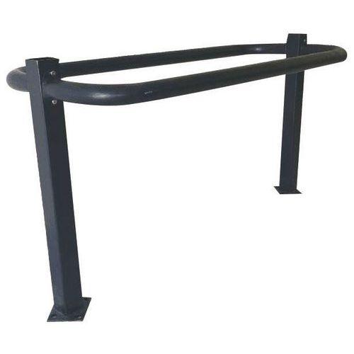 Support cycles design noir - 2 places