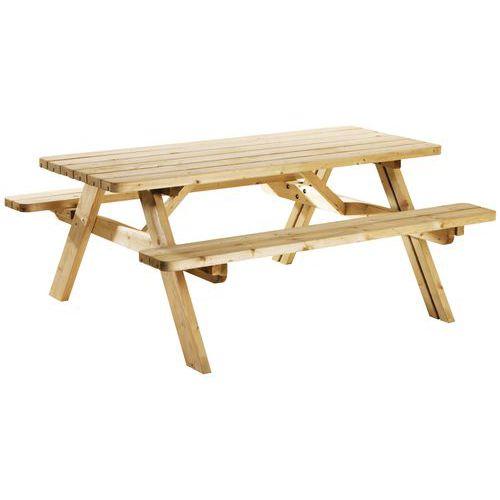 table de pique nique repliable co pin. Black Bedroom Furniture Sets. Home Design Ideas