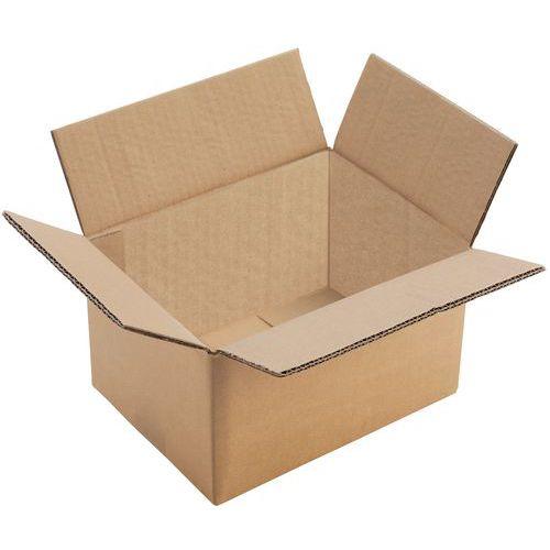 Caisse carton - Double cannelure - Manutan