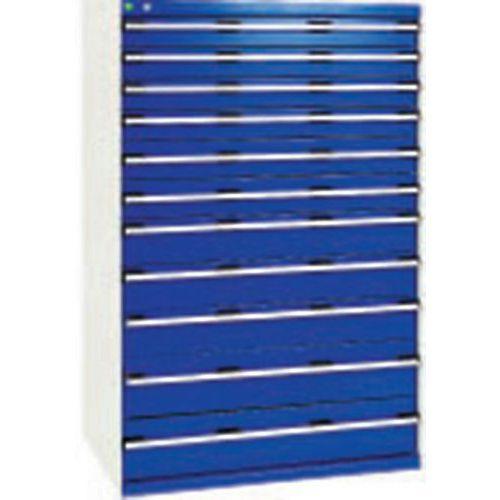 armoire d 39 atelier tiroirs bott sl 107 hauteur 160 cm manut. Black Bedroom Furniture Sets. Home Design Ideas