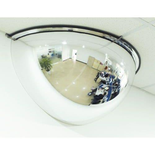miroir de s curit 1 4 de sph re manutan. Black Bedroom Furniture Sets. Home Design Ideas