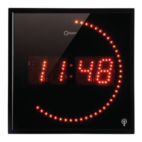 horloge led radio contr l e. Black Bedroom Furniture Sets. Home Design Ideas
