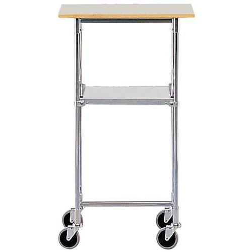 Table mobile - 2 plateaux - Force 50 kg