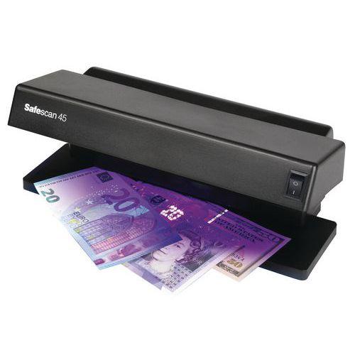 Détecteur de faux billets à lampe UV Safescan 45
