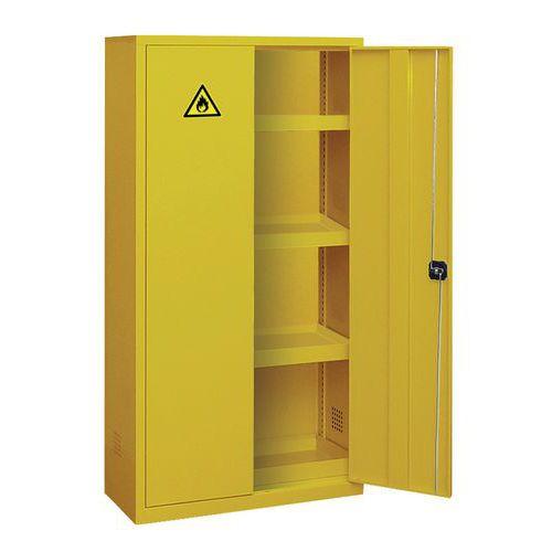 armoire de suret eco pour produits dangereux 240 l manutan. Black Bedroom Furniture Sets. Home Design Ideas