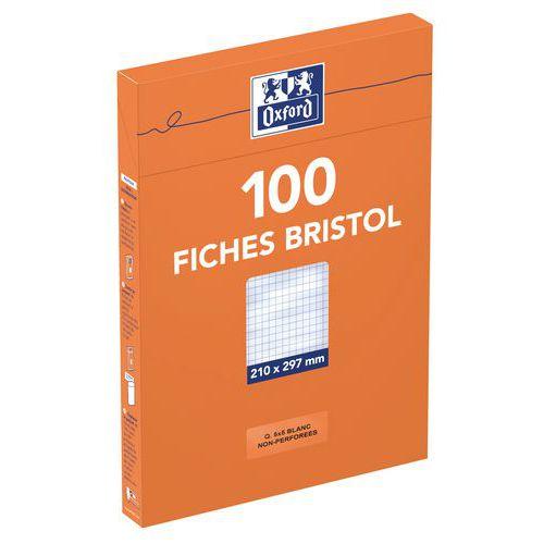 100 fiches bristol Oxford