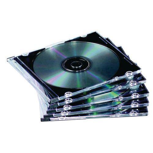 Pack de 10 boitiers cd slim