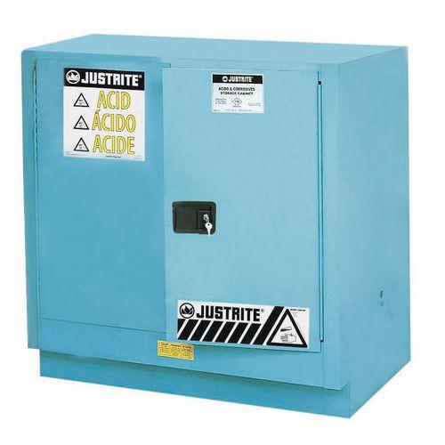 Armoire de sécurité pour produits corrosifs - Capacité de stockage 83 L