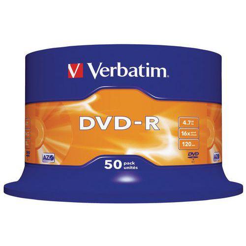 DVD-R Azo 16X - Lot de 50 Verbatim