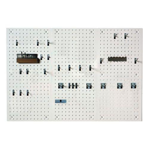 Panneau et crochets Perfo Light - kit D