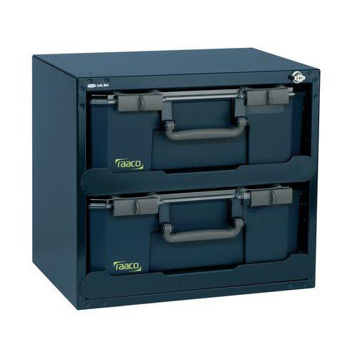 Caisson SafeBox 150x2 avec 2 mallettes Carrylite