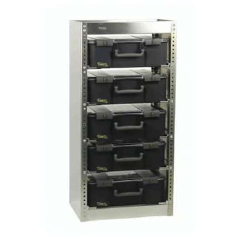 Rayonnage pour CarryLite, livré avec 5 CarryLite 150 - non monté (S221)