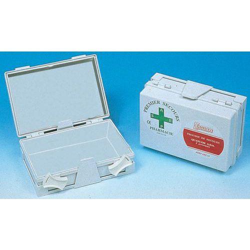 Coffret de secours 1 à 4 personnes - ABS blanc