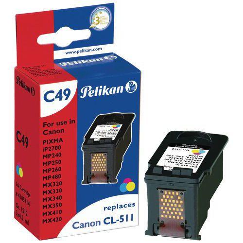 Cartouche d'encre - CL-511 - Pelikan