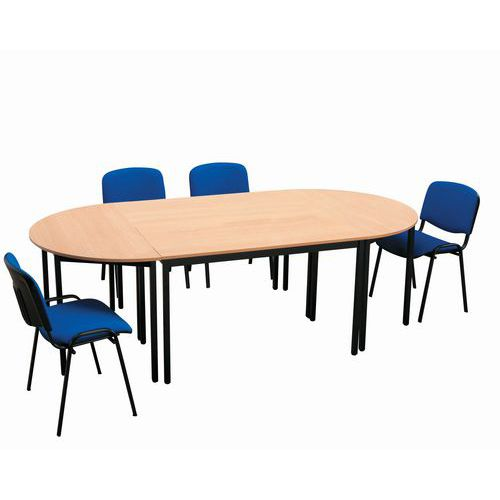 Ensemble de table de r union 2 tables et 6 chaises - Ensemble table et 6 chaises ...