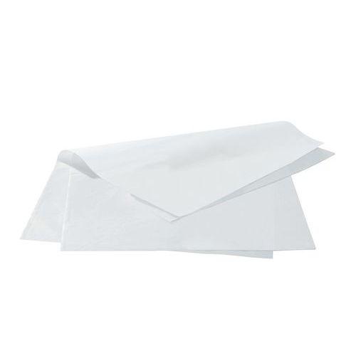 Feuille papier mousseline - Blanc