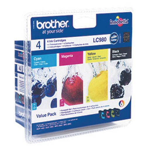 Cartouche d'encre  - LC980 - Brother