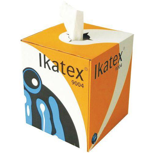 Chiffon non-tissé - Boîte distributrice à dévidage central 500 formats - Ikatex