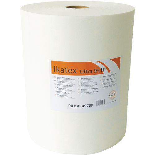 Bobine chiffons non-tissé blanc 1 pli - Ikatex