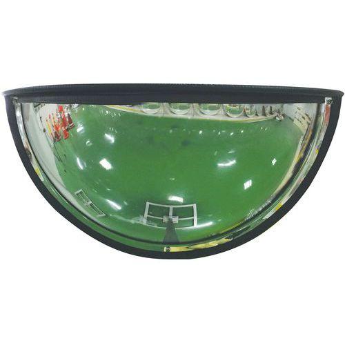 Miroir de sécurité 1/4 de sphère 180° - Manutan