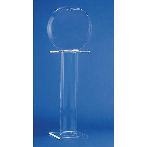 urne boule de cristal sur pied. Black Bedroom Furniture Sets. Home Design Ideas
