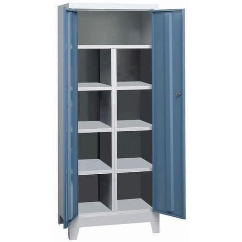 armoire monobloc sur pieds avec cloison. Black Bedroom Furniture Sets. Home Design Ideas