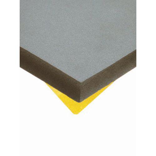 Plaque mousse - Caoutchouc cellulaire - Adhésive - Base NBR-PVC