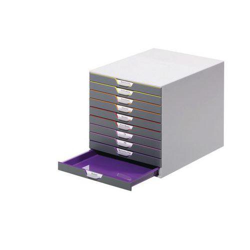 module de classement varicolor 10 tiroirs. Black Bedroom Furniture Sets. Home Design Ideas