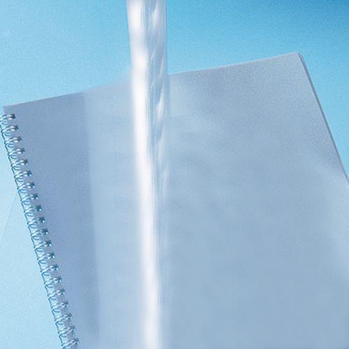Pages de couverture transparentes pour reliures à spirales et perforées