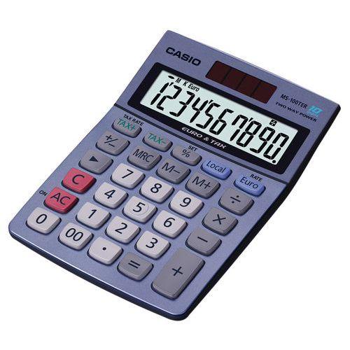 Calculatrice Casio MS-100TER