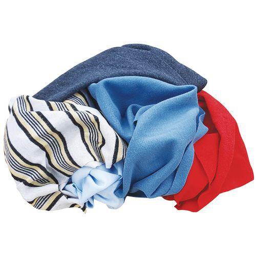 Chiffons en coton -  Multicolore - Manutan
