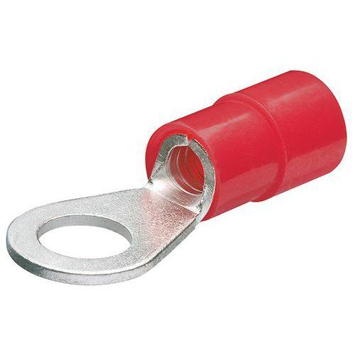 Cosses rondes isolées pour câble de 0,5 à 1,0mm² avec vis de 5mm_ 97 99 172