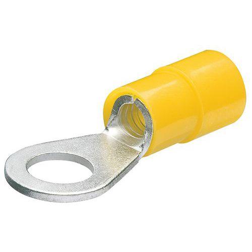 Cosses rondes isolées pour câble de 4,0 à 2,5mm² avec vis de 6mm _ 97 99 178