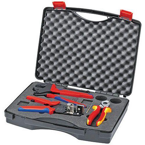 Mallette à outils pour le photovoltaïque _ 97 91 01_Knipex