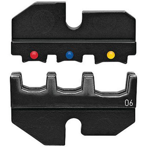 Profil de sertissage pour cosses et connecteurs isolés _ 97 49 06