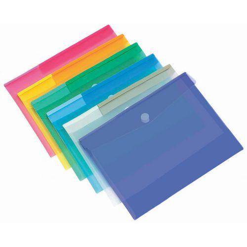 Enveloppe de présentation - Format A4 - Coloris assortis