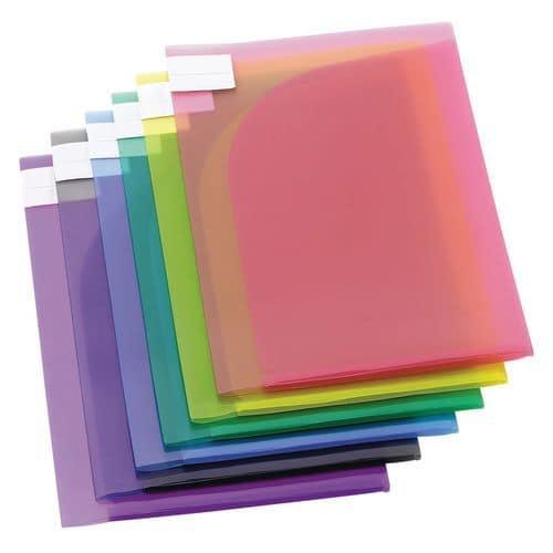 Pochette de présentation Tarifold TCollection COLOR - Format A4-  Coloris assortis