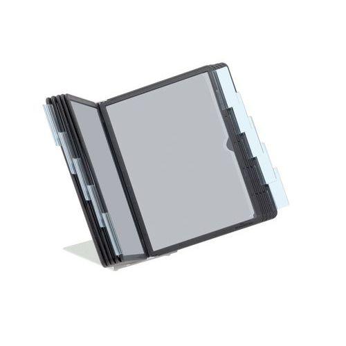 Pupitre de table Vario - 10 pochettes noires A5
