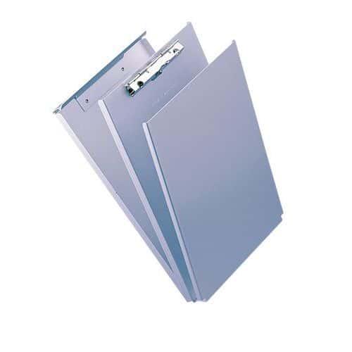 Porte-blocs avec rangement - Aluminium