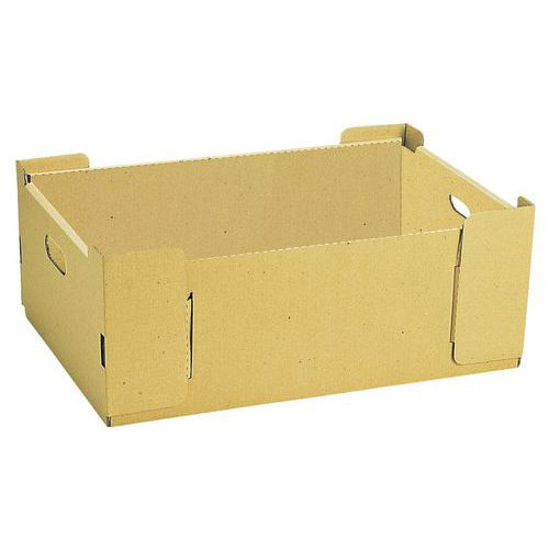 bacs gerbables en carton longueur 530 mm. Black Bedroom Furniture Sets. Home Design Ideas