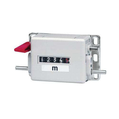 Compteur métreur - Pour roue Ø de développement 20 cm - Sens 1 - Baumer