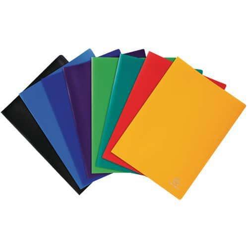 Protège-documents souple pochettes grainées opaque A4