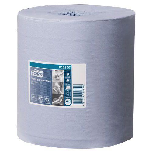 Bobine d'essuyage à dévidage central Tork - 2 plis - 450 formats