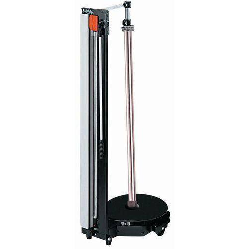 Dérouleur-coupeur vertical mobile - Rouleau Ø 450 et 750 maxi