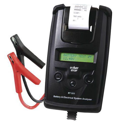 How To Dispose Of Batteries >> Testeur de batterie BT 551 DHC - Start/Stop - Manutan.fr