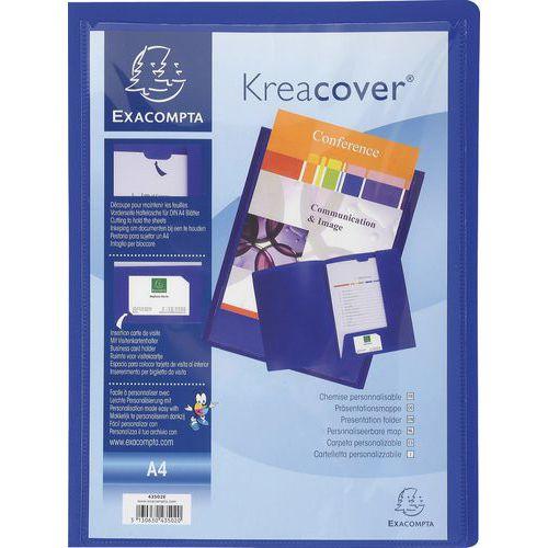 Chemise plastique personnalisable Kreacover - A4