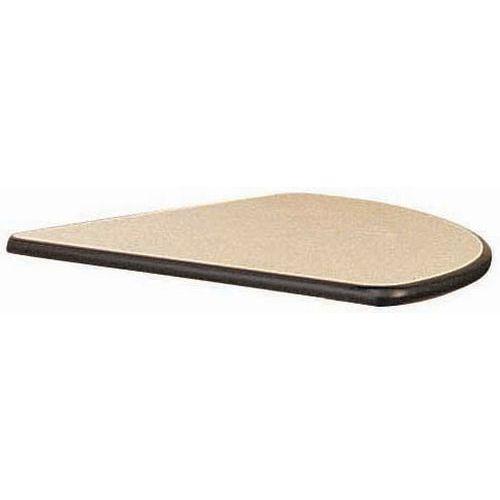 Table modulaire pliante - Piètement chromé - Quart de rond